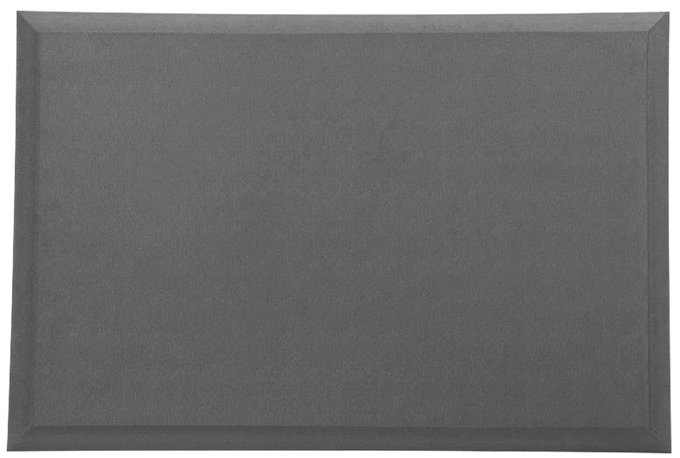 Lemebo Kitchen and Garages Mat | Anti Fatigue Comfort Mat, 4/5 Thick | Ergonomically Engineered, Non-Slip, Waterproof,Eco-Friendly | 24''x35'' - Gray by Lemebo