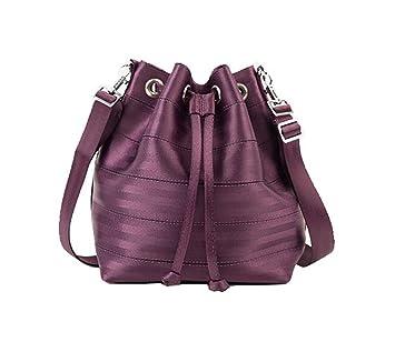fa3c420eb3 Buy Harveys Seatbelt Bag Women s Park Hopper BlackBerry Handbag by Harvey s  Online at Low Prices in India - Amazon.in