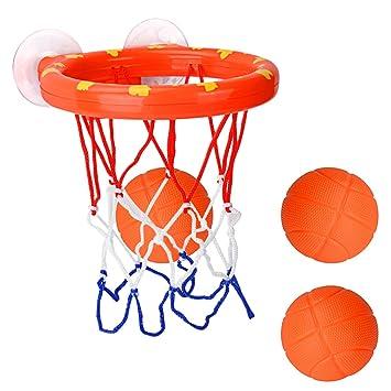 Amazon.com: Cyfie - Juego de pelotas y aros de baloncesto ...