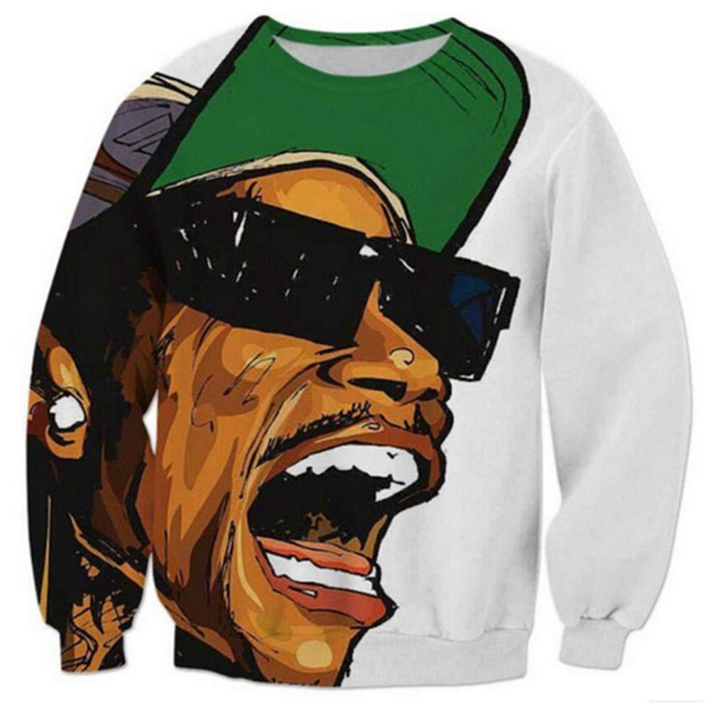 SU Kleidung Tupac Sweatshirt Hip Hop Jersey Jumper 3D Print 2Pac Pullover Men and Damens Couple Sweater,4XL
