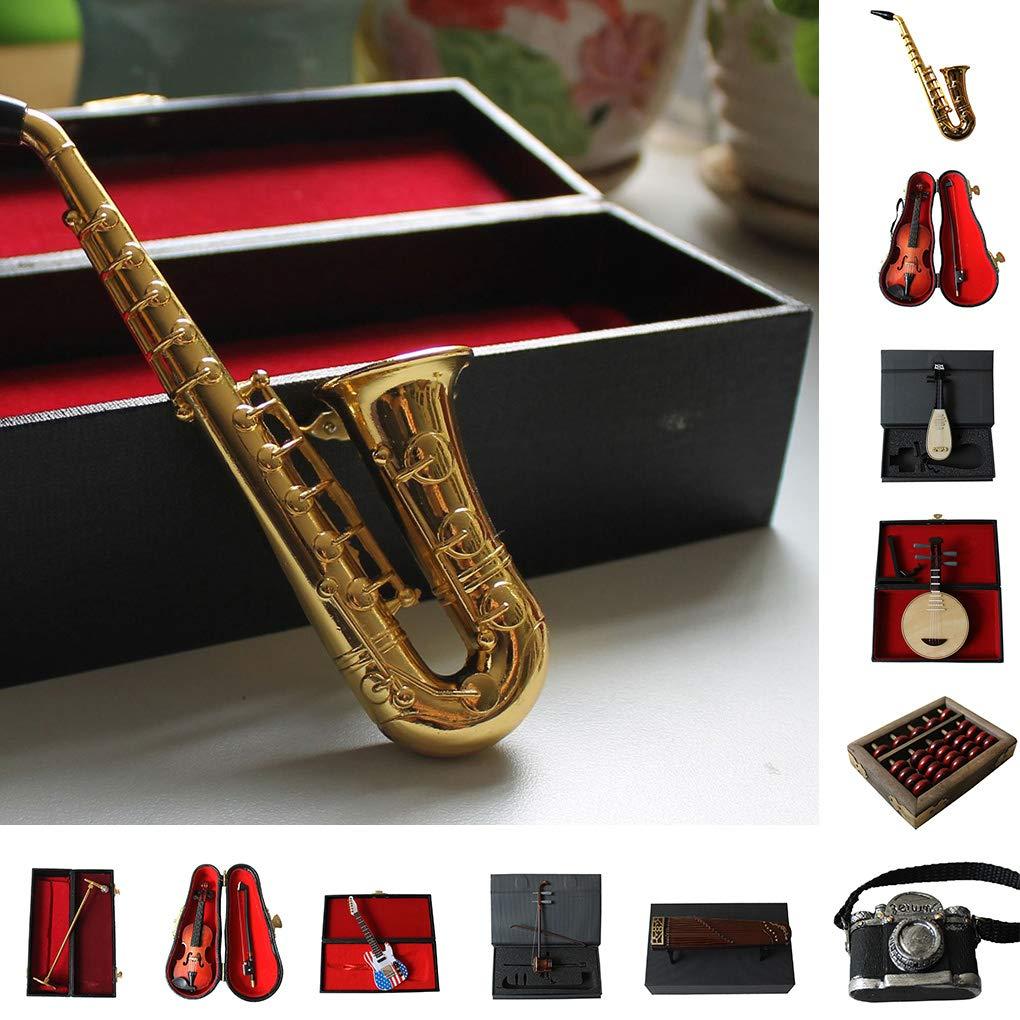 Provide The Best Neugeborenes Baby-Fotografie Props Mikrofon Saxophon Violinen-Gitarren-S/äuglingskleinkind-Foto-Schie/ßen Spielzeug