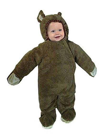 infant baby monkey bunting dress up halloween costume size medium 6 18 months