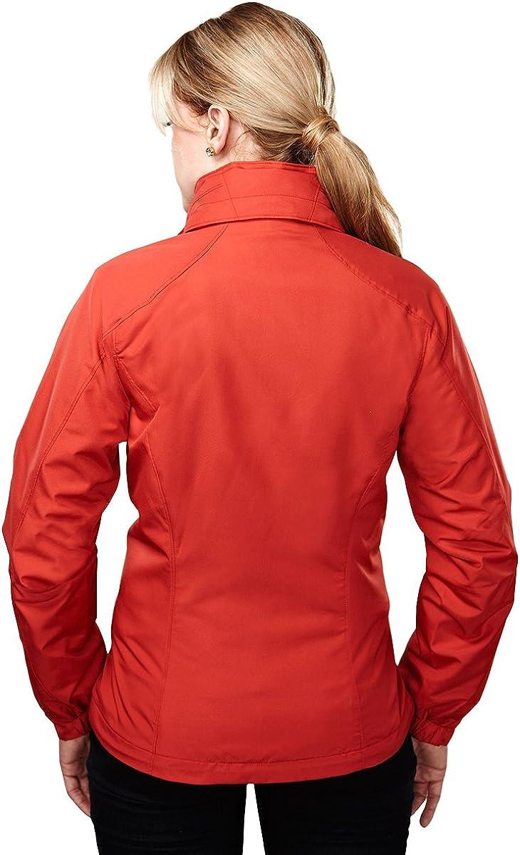 4XL DARK GUAVA Tri-Mountain Womens Tailored Fit Lightweight Shell Jacket