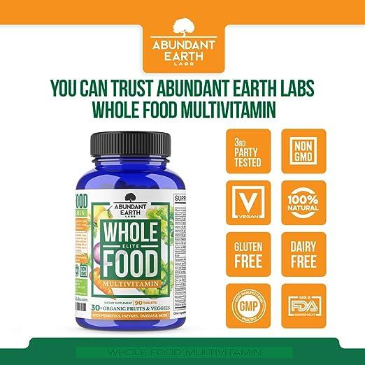 Amazon.com: Toda la comida Multivitamínico para Hombres y ...