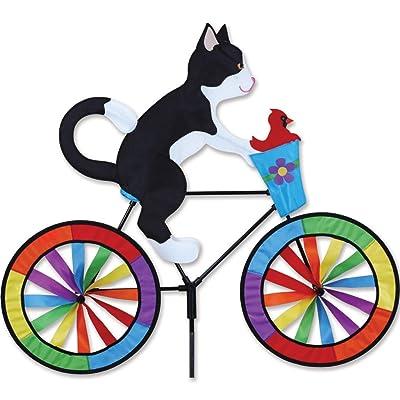 Premier Kites Bike Spinner - Tuxedo Cat: Garden & Outdoor