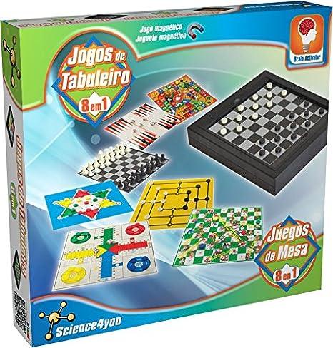 Science4you-Juegos de Mesa 8 en 1 (394728): Amazon.es: Juguetes y ...