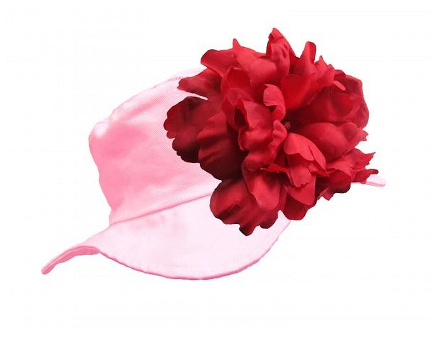 Sun Hats with Red Large Peony