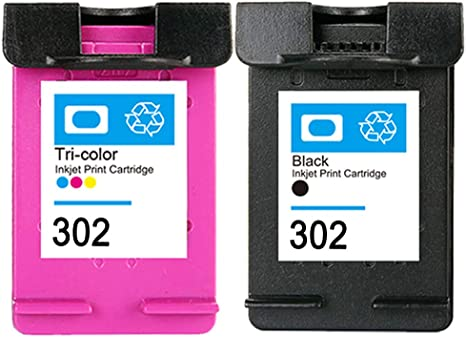 Compatibile With Cartuchos De Tinta HP 302 XL 302xl Negro Tricolor ...
