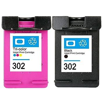 Compatibile With Cartuchos De Tinta HP 302 XL 302xl Negro Tricolor de álta capacidad Compatible Impresora HP mit OfficeJet 3830 3832 4655 4657 DeskJet ...