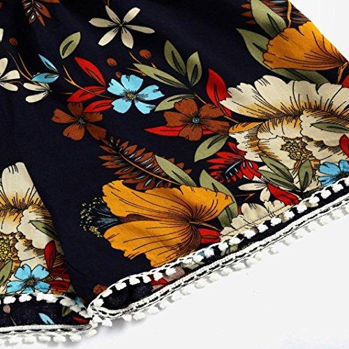 Maglietta T Corte Sexy Homebaby Elegante Pantaloncini Particolari Donna Corta Vintage Donna Tumblr Magliette Sciolto Causal Nero Shirt Top Ragazza Manica Estiva Set Chiffon 2PC qqwErRBz