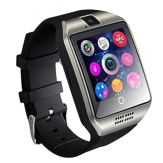 Teléfono Inteligente Bluetooth Watch Impermeable con cámara Ranura para Tarjeta TF/SIM para teléfonos Inteligentes