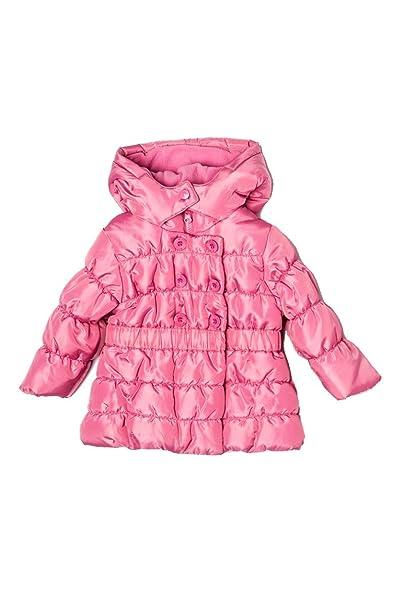 Minoti - Abrigo - para niña rojo cereza 2-3 Años: Amazon.es: Ropa y accesorios