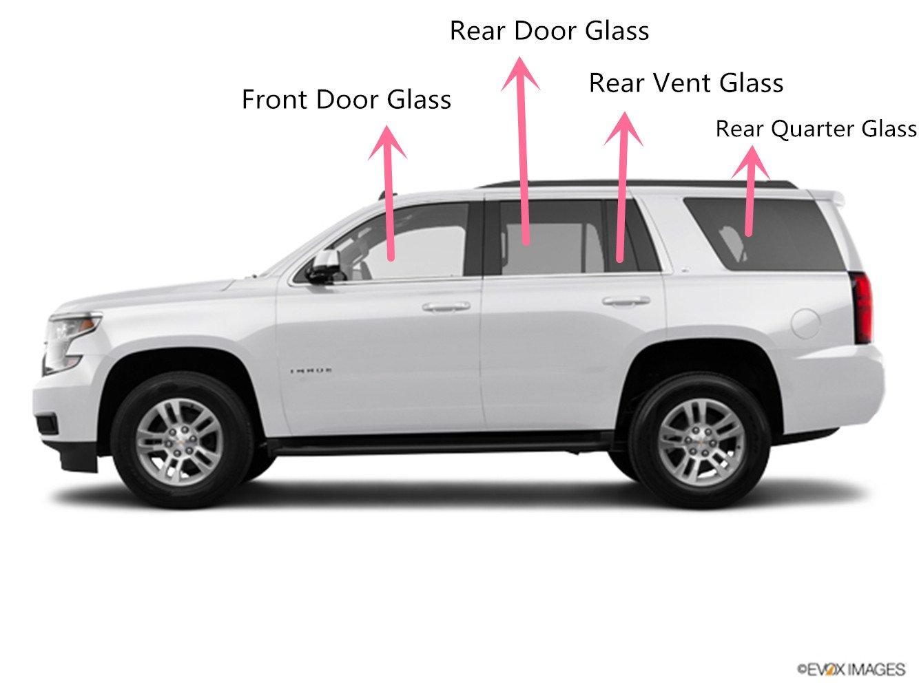 NAGD Fit 2005-2010 Honda Odyssey Mini Van Driver Left Side Rear Vent Window Glass