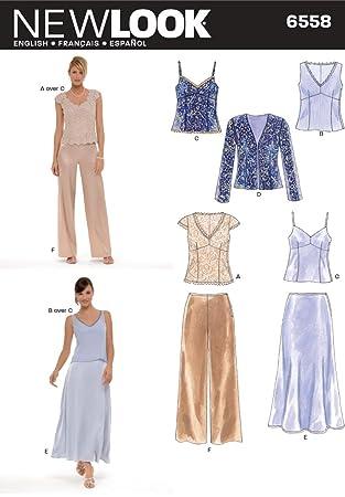 Simplicity New Look Misses\' 6558 Kleider-Schnittmuster für besondere ...