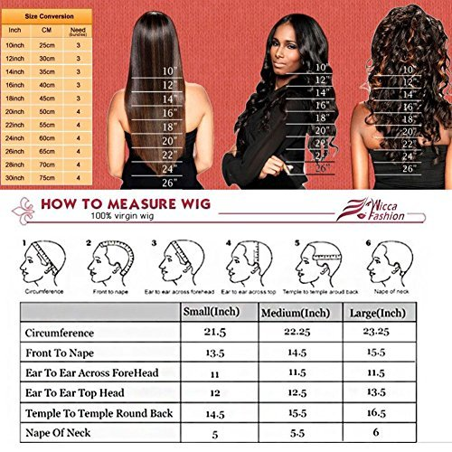 Amazon Com Human Hair Straight Full Lace Wig 100 Real Brazilian