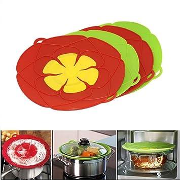 Mehrzweck-Topf Deckel Pfanne, auslaufsicher Stopper Cover, Küche ...