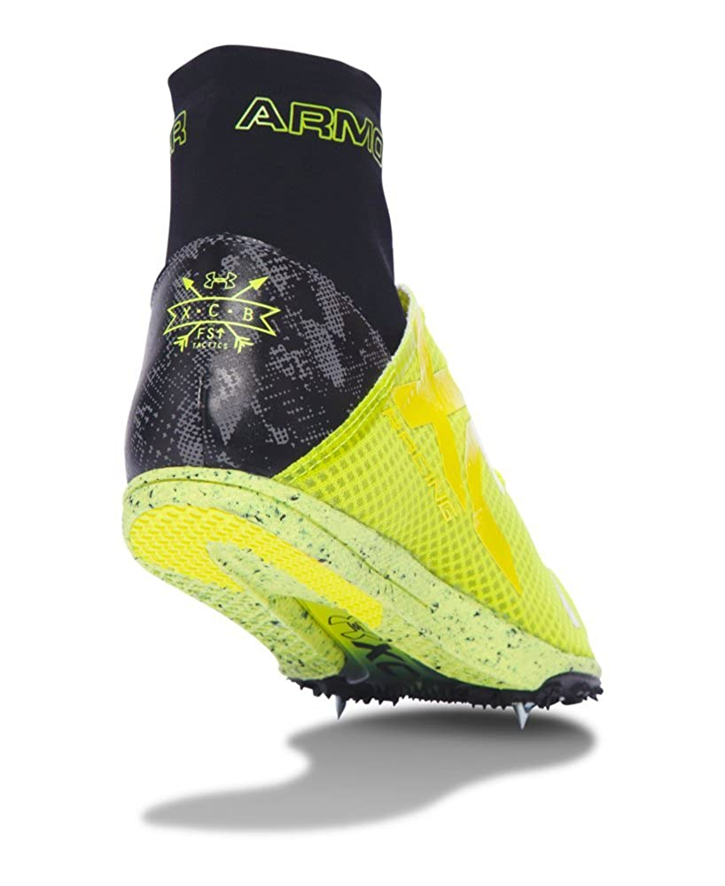746ef45b22 Amazon.com | Under Armour UA Charged Bandit XC Spike Running Shoes ...