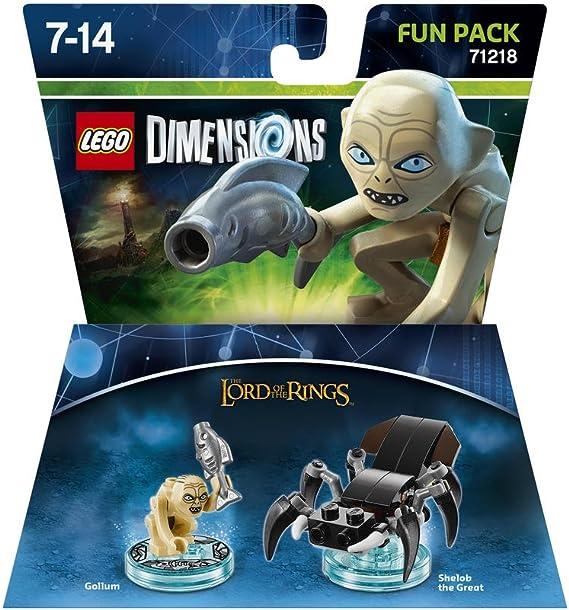 LEGO Dimensions - Figura El Señor De Los Anillos, Gollum: Amazon ...