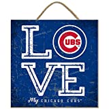Prints Charming Chicago Cubs Color Love My Team - Square
