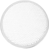 DOITOOL Pizza Screen Aluminium Mesh Non Stick Pizza Baking Pan Tray Bakeware Net Kitchen Tool for Cooking Grilling Serving 10 Inches