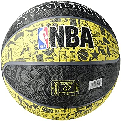 Spalding NBA Graffiti Outdoor 83-307Z Balón de Baloncesto ...