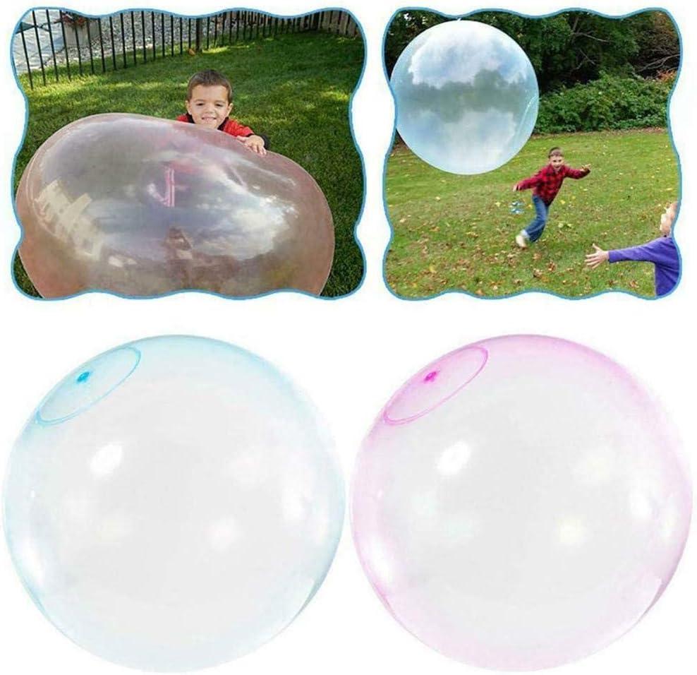 bola de goma TPR suave interactiva Bola de burbuja de agua KRY jard/ín bola de burbuja inflable de gran tama/ño fiesta para playa exterior