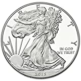 #10: 2015 - 1 oz American Silver Eagle .999 Fine Silver Dollar Uncirculated US Mint