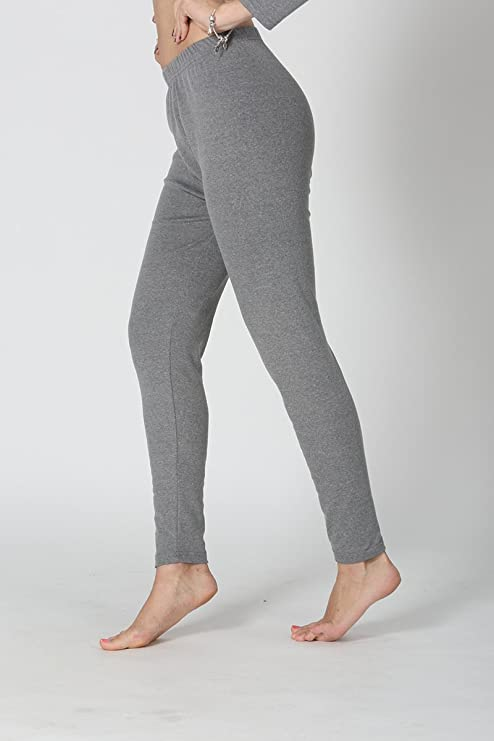 Hoverwin – Leggings Jersey Algodón Mujer, Elastane, Stretch Mujer ...
