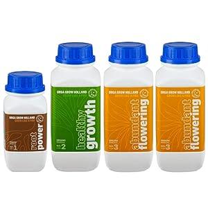 Orga Grow Holland Organic Nutrients and Liquid Fertilizer Foy Hydroponic Growth