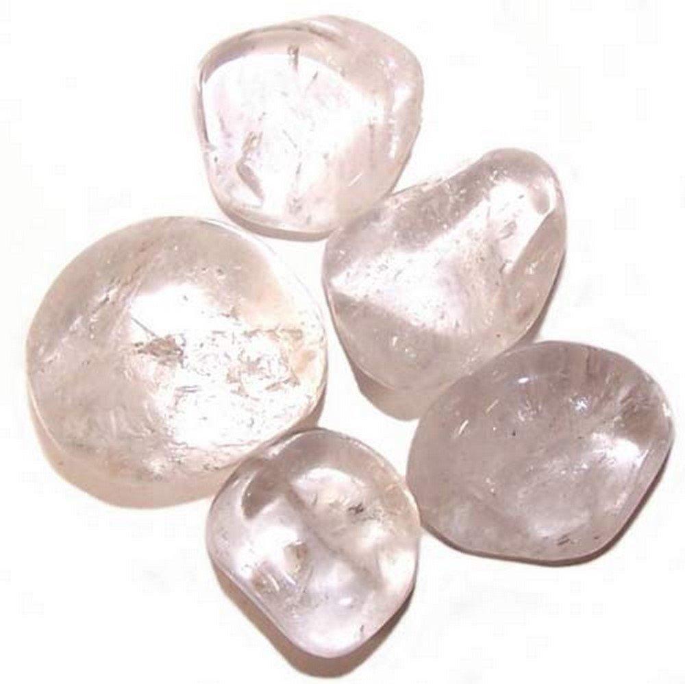 Pierre roulée (polie) Cristal de Roche 2-3cm,Qualité supérieure inconnu