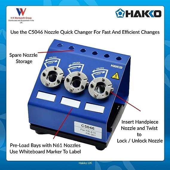 Hakko Fr-301//à dessouder Outil
