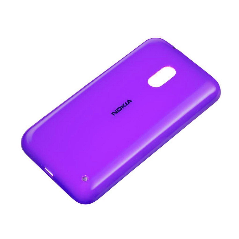 Original Nokia Shell Lumia 620 Battery Back Cover Case Cc 3057 Magenta Purple Electronics