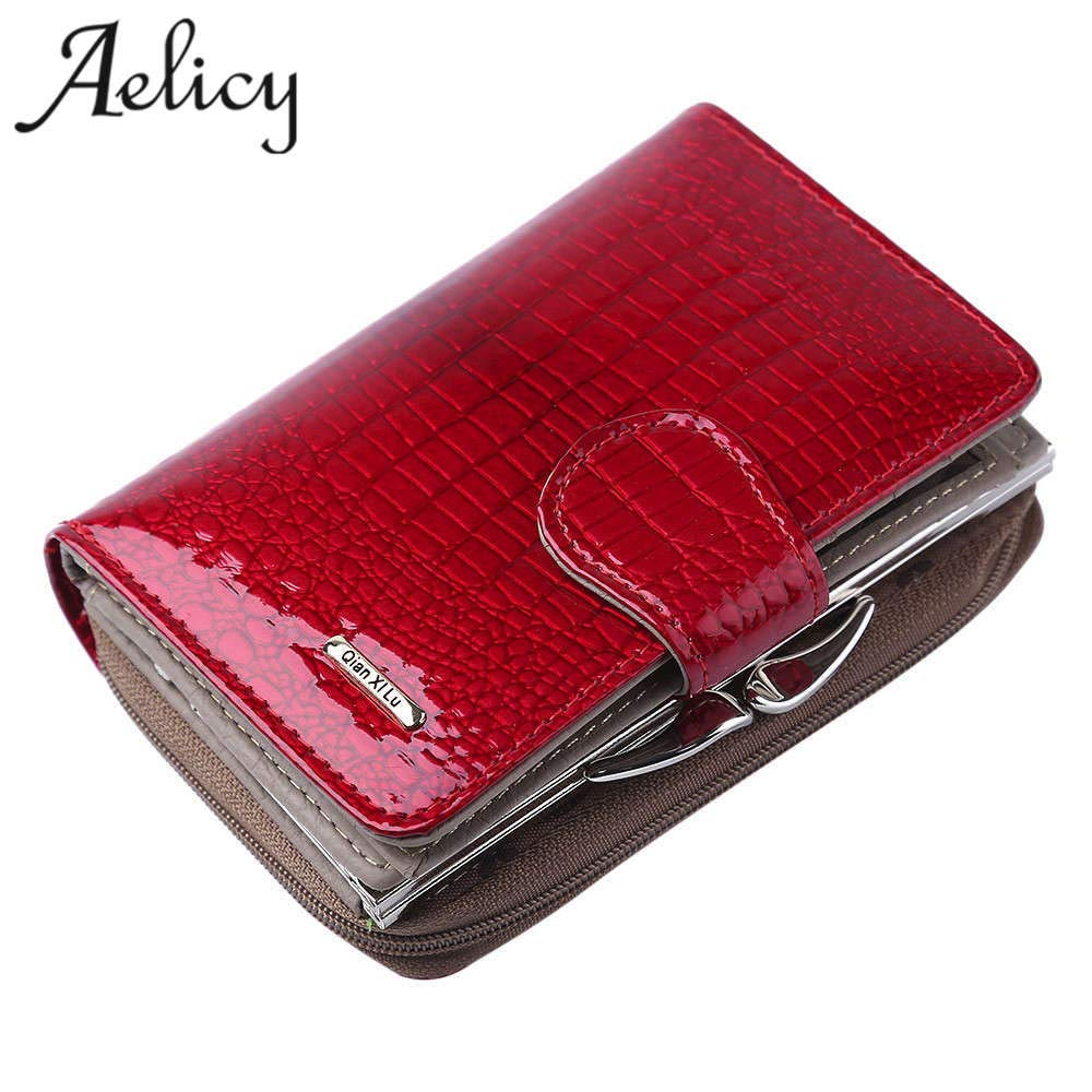 Amazon.com: Womens Wallets Brand Purses Female Long European and American Style Genuine Leather Wallet Coin Purse Ladies Designer: Kitchen & Dining