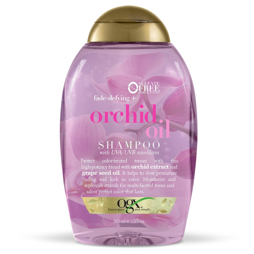 OGX Fade-Defying + Orchid Oil Shampoo, 13 Ounce