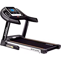Stunner Fitness STX-250 (2.0 HP) Motorised Treadmill with Auto Inclination & Auto Lubrication System, MP3, Smart Phone App, for Cardio Workout at Home