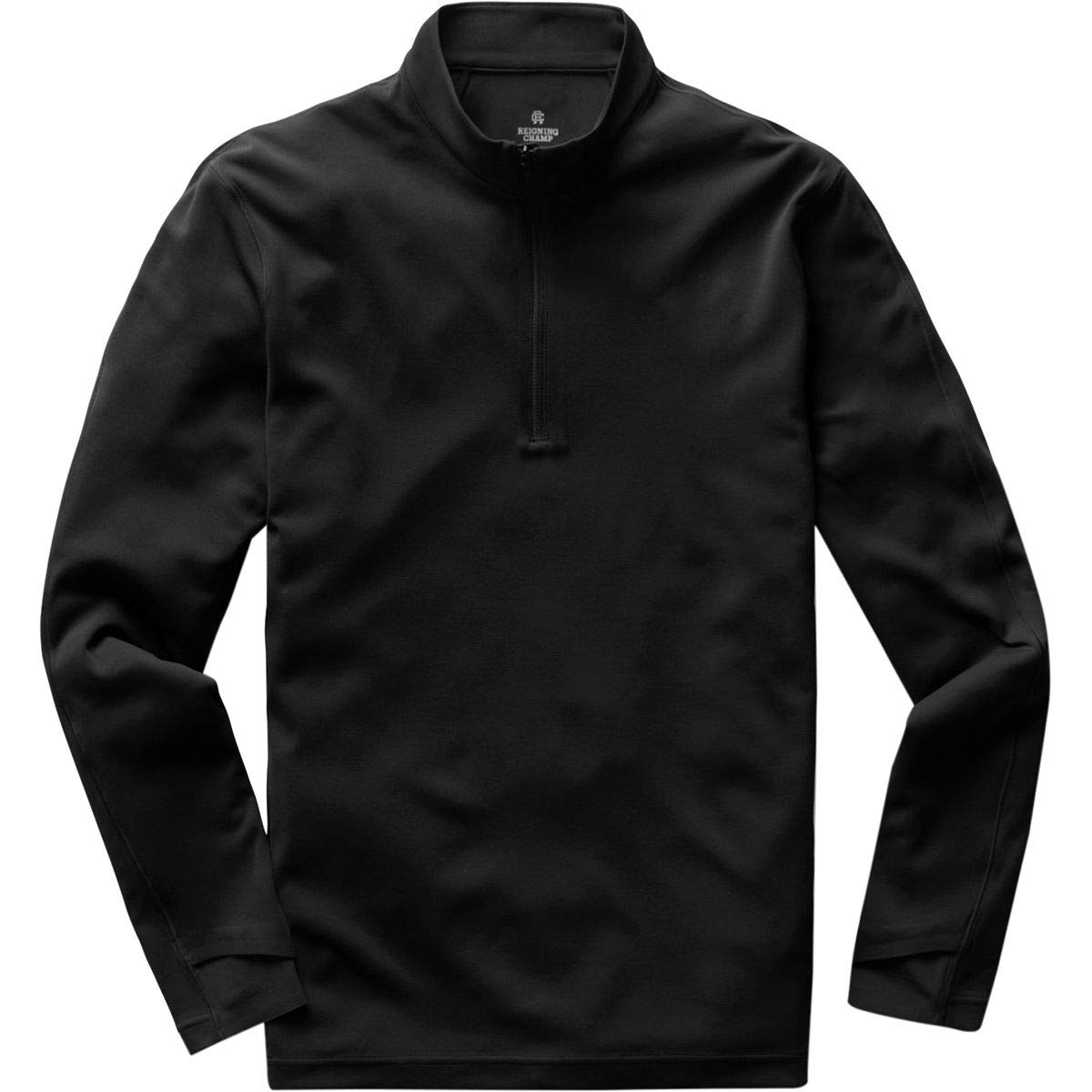 Reigning Champ Men's Trail Power Dry Shirt, Black, Large