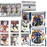2018/19 Panini NHL Hockey Sticker Collection Master Kit (1 50-Pack Box & 1 Album)