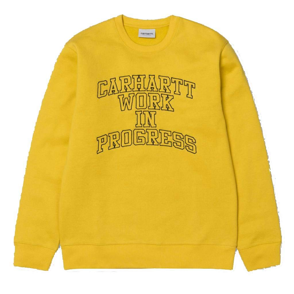 Carhartt WIP Division Embroidery Sweat, Sudadera sin Capucha para Hombre: Amazon.es: Ropa y accesorios