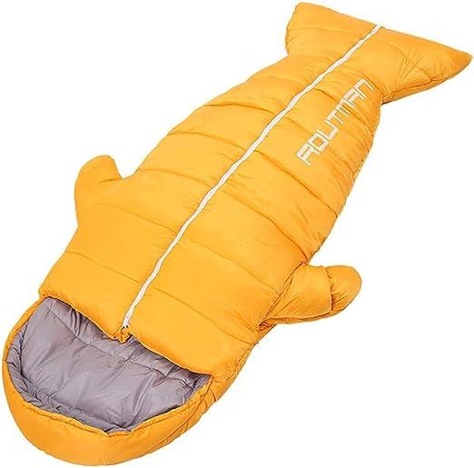 BAACHANG Saco de Dormir Ultra liviano portátil Humano cálido Solo ...