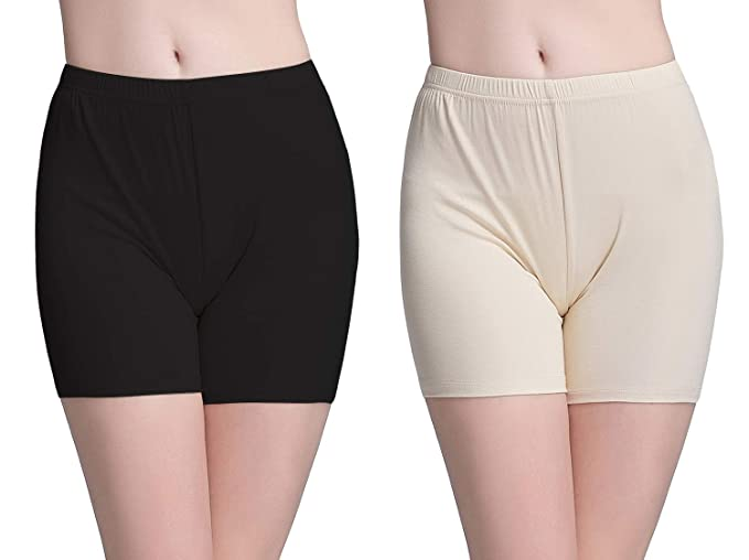 eb797fc5986e Vinconie Women Short Legging Over-Knee Shorts Lightweight Chafing Knickers