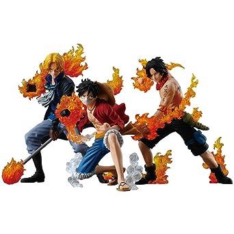 amazon ワンピース attack styling 炎の3兄弟 3個入 box 食玩 ガム 通販