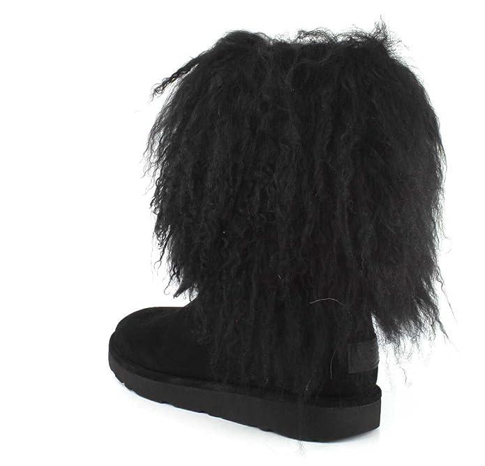 amazon com ugg womens lida black boot 6 ankle bootie rh amazon com