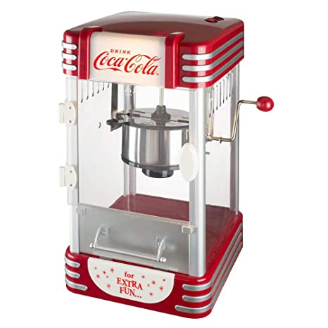 Amazon.com: Le Studio Coca-Cola Popcorn Device, Red: Home ...