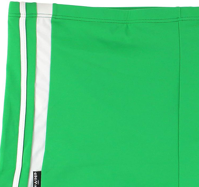 Mehrfarbig eleMar Badehose Schwimmpant Pant in /übergr/ö/ße f/ür Herren in der Farbe gr/ün-wei/ß bis 10XL