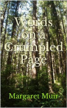 Words on a Crumpled Page by [Muir, Margaret]
