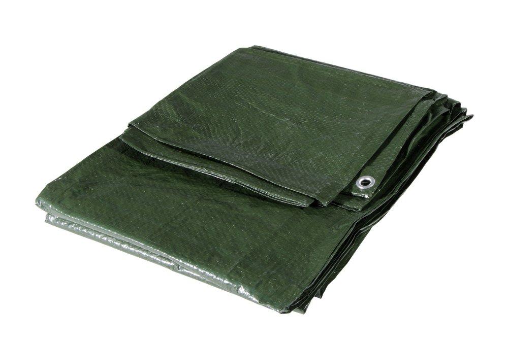 Colore Verde coperture stoccaggio edilizia 2x6 VERDELOOK Telo occhiellato Multiuso Dim