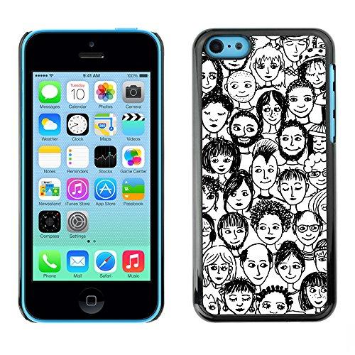 Premio Sottile Slim Cassa Custodia Case Cover Shell // V00002419 Gens // Apple iPhone 5C