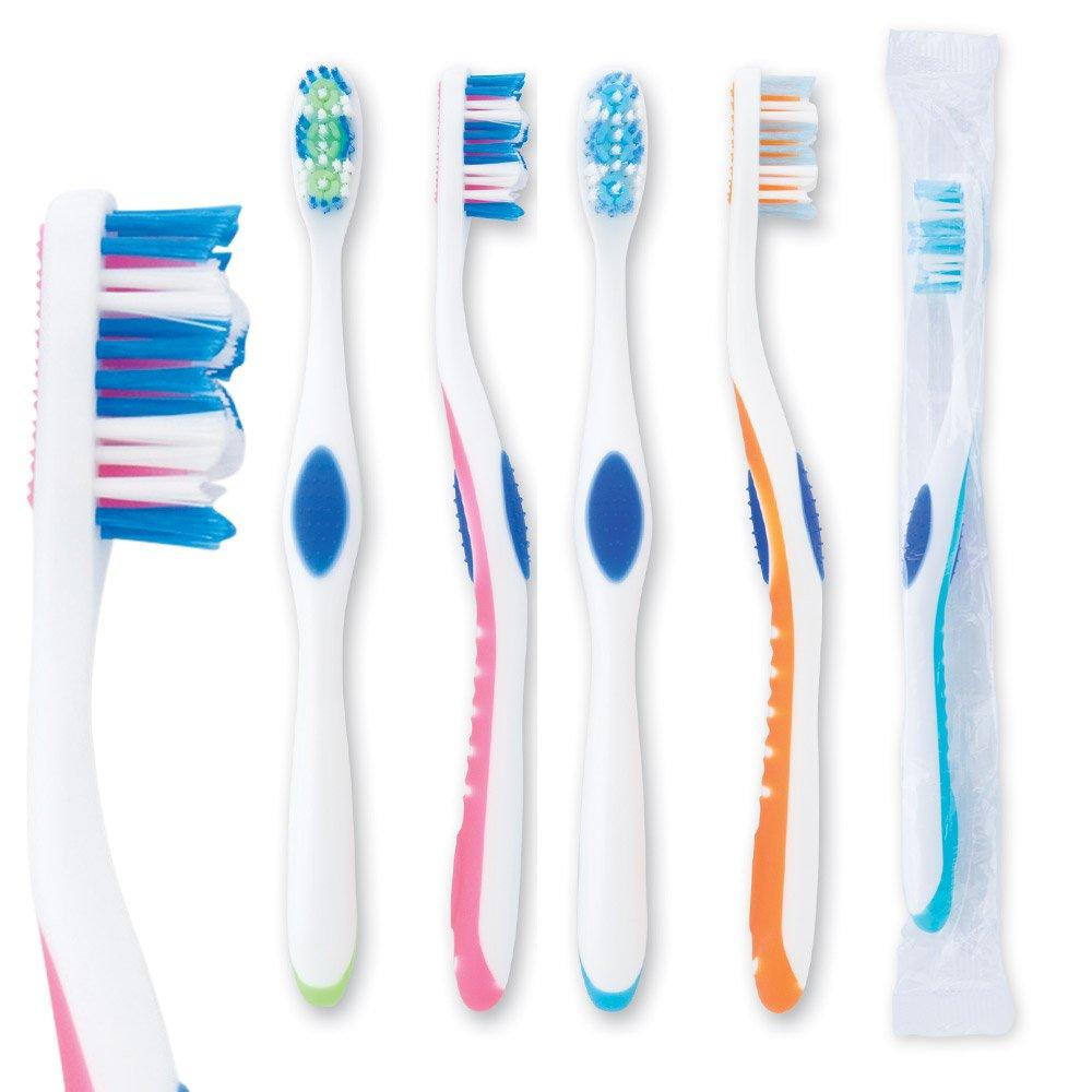 OraLine Adult Premium 36 w/ Tongue Cleaner Brushes - 144 per pack