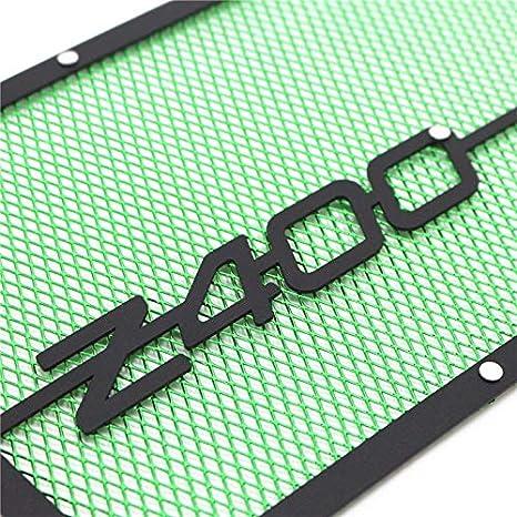 Moto Accesorios Calle Guardia de radiador de la motocicleta protector de la cubierta del protector del radiador de la bici que compite con la parrilla for Kawasaki Z400 2018 2019 NINJA400