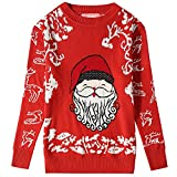 Product review for Camii Mia Big Girls' Funny Santa Claus Pullover Crewneck Ugly Christmas Sweater